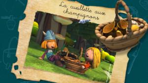 Vignette_vic le viking_La cueillette aux champignons