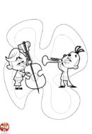 Contrebasse et trompette