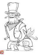 Cowboy attaqué