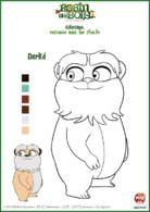 coloriage Robin des bois - Derké