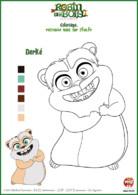 coloriage Robin des bois - Derké le mignon