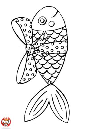 Coloriage : Tu aimes les poissons en chocolat ? Alors tu aimeras forcément ce coloriage vacances de Pâques que TFou.fr t'a préparé ! Imprime gratuitement ce coloriage sur TFou.fr et tu gagneras un maximum de point pour avoir plus de badge héro. Découvre les nombreux coloriages qui sont disponibles sur TFou.fr pour passer des vacances de Pâques au top ! Amuse-toi avec tes amis et ta famille en coloriant tous ces beaux dessins gratuits sur TFou.fr ! A toi de jouer en utilisant tes crayons de couleur pour les décorer !