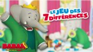 Jeu Babar : les 7différences