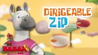 Jeu Babar : dirigeable Zip