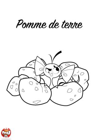 Coloriage: Pomme de terre