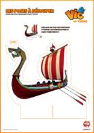 pose à découper Drakkar vic le viking