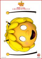 Masque à découper - maya l'abeille