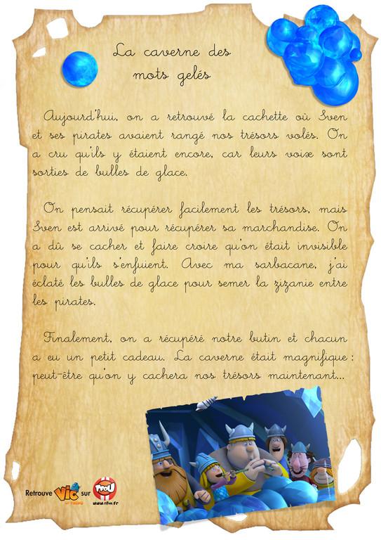 carnet de bord vic le viking