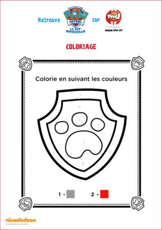 Imprime le badge de Ryder, le chef de la Pat'Patrouille sur tfou.fr !