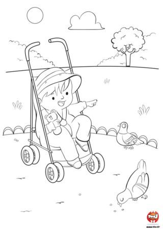 Imprime vite ce coloriage bébé sur TFou.fr ! Dans ce coloriage gratuit pour enfant, tu pourras aider ce bébé très mignon à être encore plus joyeux en lui mettant plein de couleurs...