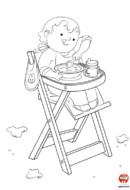 Le repas de bébé
