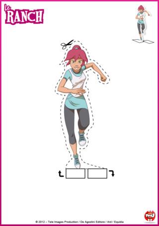 Activité: amuse-toi en découpant et en coloriant ce super dessin de Anaïs après l'avoir imprimé gratuitement sur TFou.fr. Tu peux le coller sur un support cartonné et y jouer autant de fois que tu le désires.