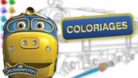 Jeu Chuggington : coloriages