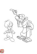 Marcelino et le moine