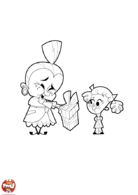 Cadeau pour mamie
