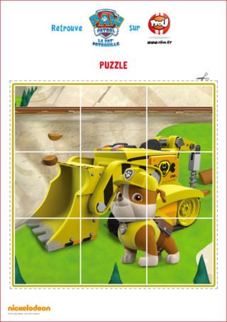Imprime et découpe ce puzzle de Ruben de la Pat'Patrouille sur TFou.fr !