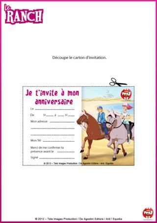 Imprime vite cette carte d'invitation autant de fois que tu le souhaites pour inviter tes amis à ton anniversaire avec tes héros préférés sur TFou.fr !
