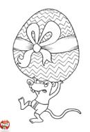 L'oeuf de Pâques et la souris