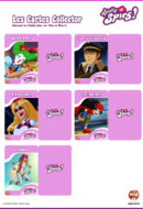 Cartes collector méchants totally spies