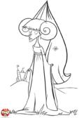 Princesse mécontente