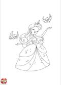 Princesse et oisillons