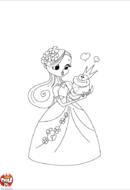 Princesse et grenouille