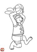 Lapin basketteur