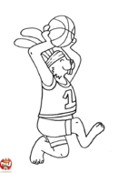 Lapin basketteur