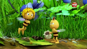 Willy prend la mouche - Maya l'Abeille