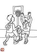 Enfants au basket
