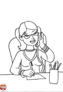 Secrétaire au bureau