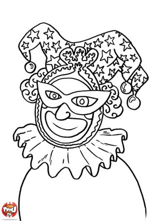 Le bouffon est un personnage célèbre du Carnaval. Imprime gratuitement les coloriages Carnaval sur TFou.fr. Tu trouveras plein de super coloriages Carnaval pour faire la fête !