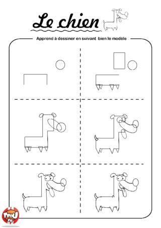 Coloriage: Le chien