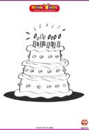 coloriage_RK_Gateau d'anniversaire