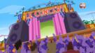 Le début du concert