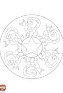 Mandala renard