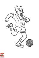 La passe de foot