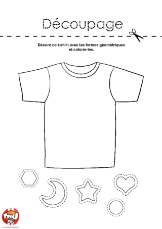 Coloriage: T-shirt