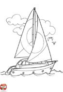 Un grand voilier