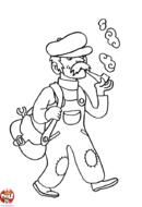 Plombier qui fume sa pipe