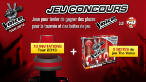 Visuel The Voice Concours
