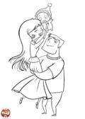 Les parents et leur bébé