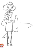 L'hôtesse et l'avion
