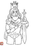 Le Roi et son épée