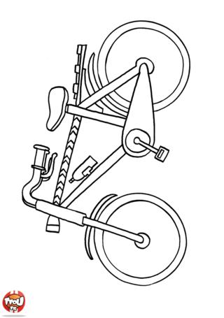 Coloriage: Vélo
