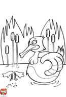 Le canard coule à pic