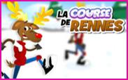 Jeux d'hiver: la course de rennes