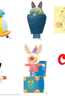 Calimero - stickers inventions