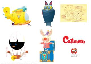 """Calimero ne supporte pas les injustices du quotidien. Grâce à son grand coeur, l'aide de ses amis et un vieux moulin rempli d'inventions fantastiques, Calimero répare toutes ces choses de la vie """" vraiment trop injustes... """" . Toi aussi tu aimes ses inventions ? Tu aimerais avoir la carte de la salle secrète ? Imprime gratuitement les stickers, découpe-les et colle-les où tu veux. Si tu aimes ces stickers, va sur le site TFou.fr et pour trouver d'autres stickers Calimero."""