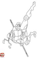Tortue Ninja combat